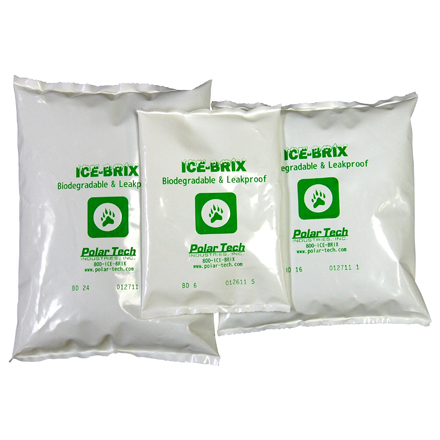 Ice-Brix<span class='tm'>™</span> Biodegradable Packs